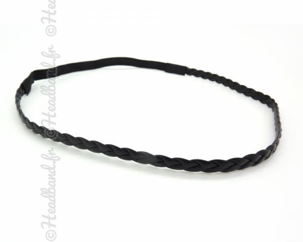Headband simple noir