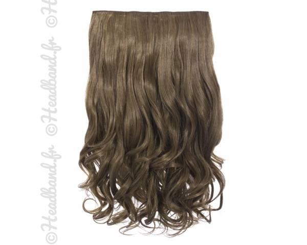 Extension cheveux monobande ondulée 45 cm - Blond foncé
