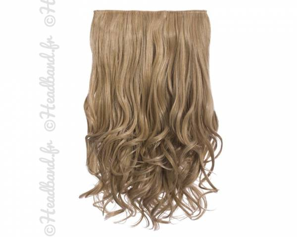 Extension cheveux monobande ondulée 45 cm - Blond miel