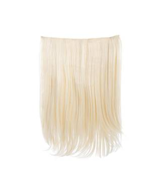 Rajout monobande raide 45 cm - Blond platine