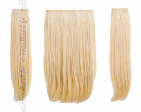 Extensions raides maxi-volume 200 g - Blond platine