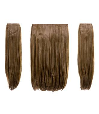 Extensions raides maxi-volume 200 g - Blond foncé