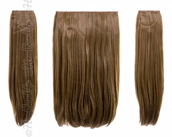 Extensions 3 pièces raides 45 cm - Blond foncé