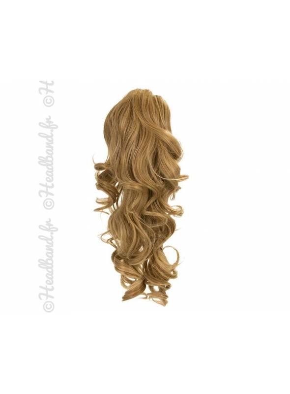 Ponytail ondulée - Blond miel