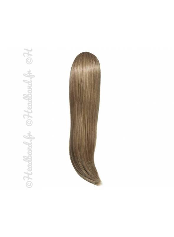 Ponytail raide - Blond foncé