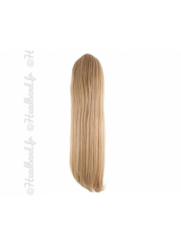 Ponytail raide - Blond miel