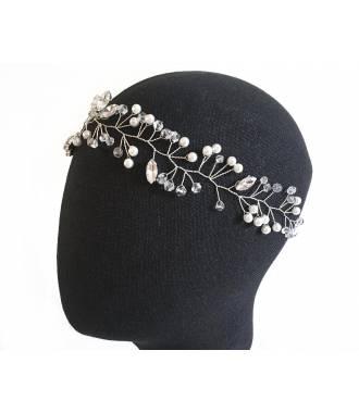 Headband vigne strass épi
