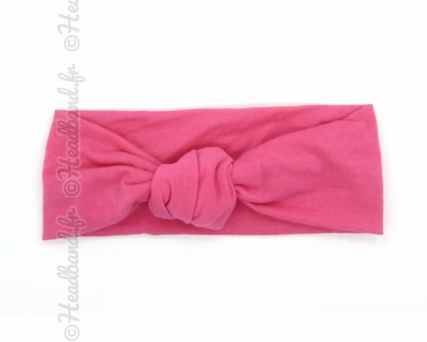 Bandeau fille rose foncé