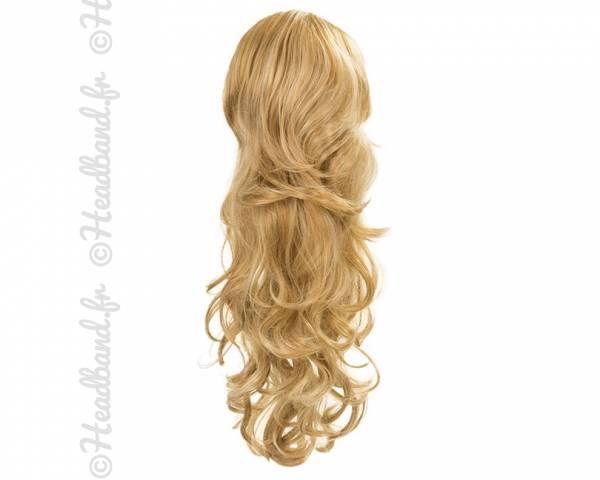 Maxi ponytail - Blond miel