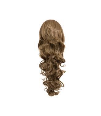 Maxi ponytail bouclée - Blond foncé