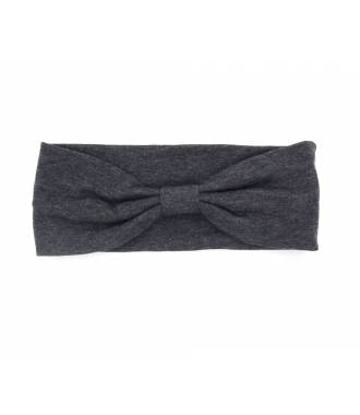 Headband jersey gris foncé
