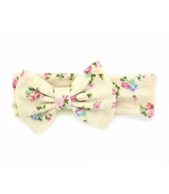 Headband large liberty beige