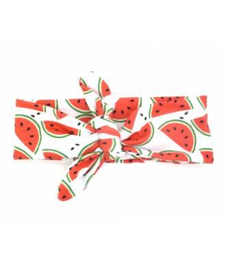 Bandeau fille imprimé pastèque
