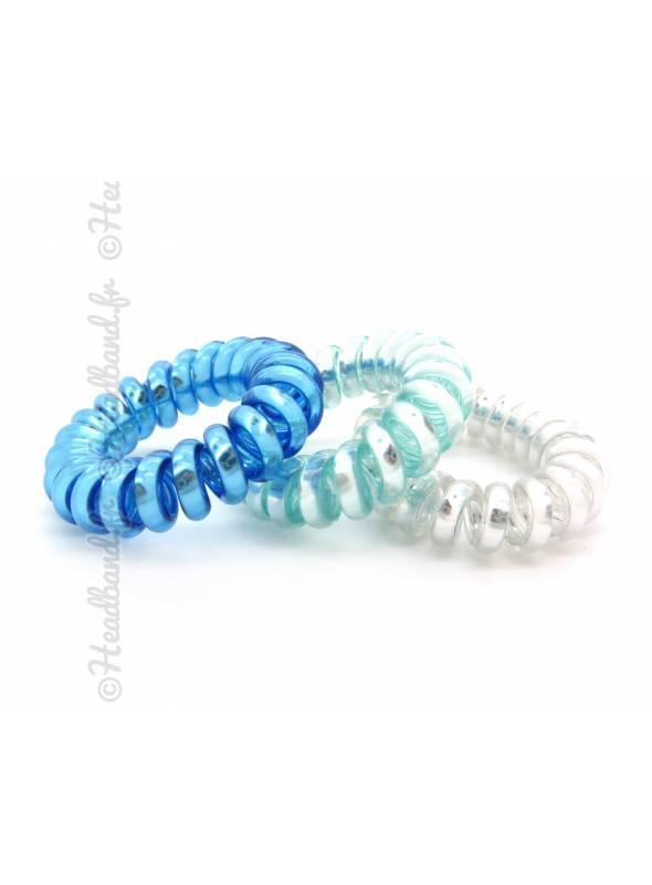 Chouchou cordon bleu x 3