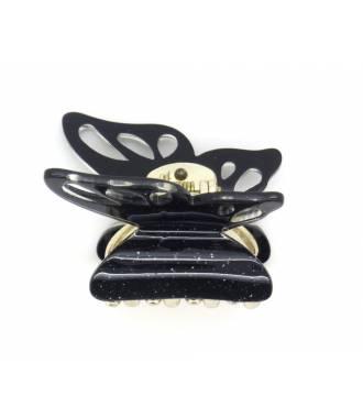 Pince crabe papillon noir zoom