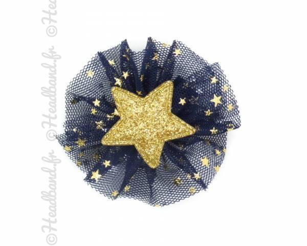 Pince tulle étoile marine