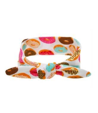 Bandeau bébé motif donut