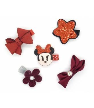 Set accessoires chat rouge