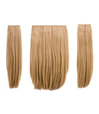 Extensions 3 pièces raides - Blond doré