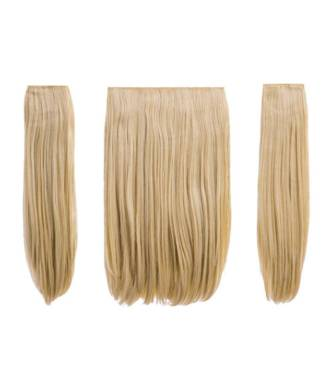 Extensions raides maxi-volume 200 g - Blond clair