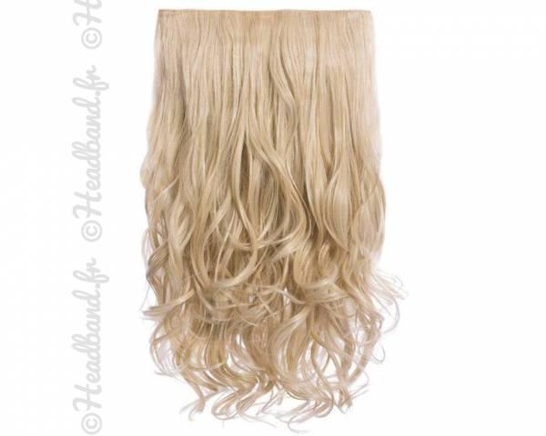 Extension cheveux monobande ondulée 45 cm - Blond clair