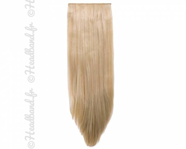 Extensions 8 bandes raides - Blond clair