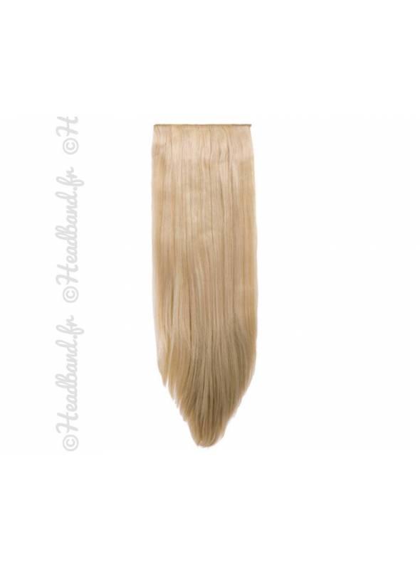 Extensions 8 bandes raides - Blond clair