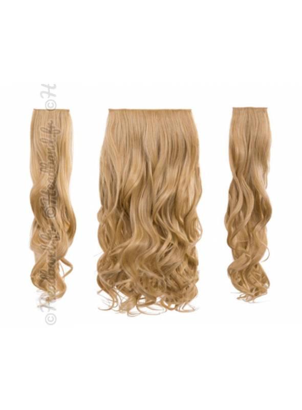 3 bandes ondulées 50 cm - Blond doré