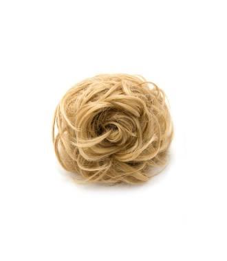 Rajout chignon ondulé - Blond doré
