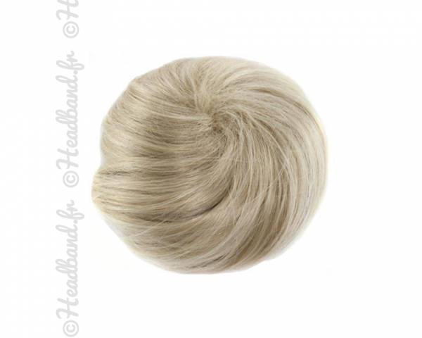 Chignon messy bun - Blond clair