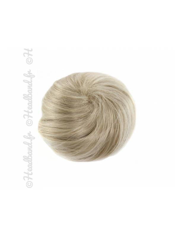 Messy bun - Blond clair