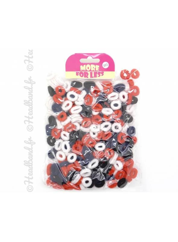 Petits élastiques mousse multicolores x 300