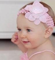 Accessoire chevuex pour bébé