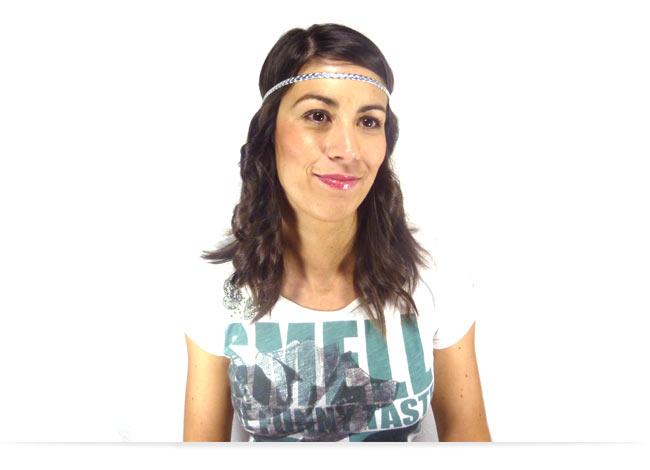 Comment porter le headband sur le front