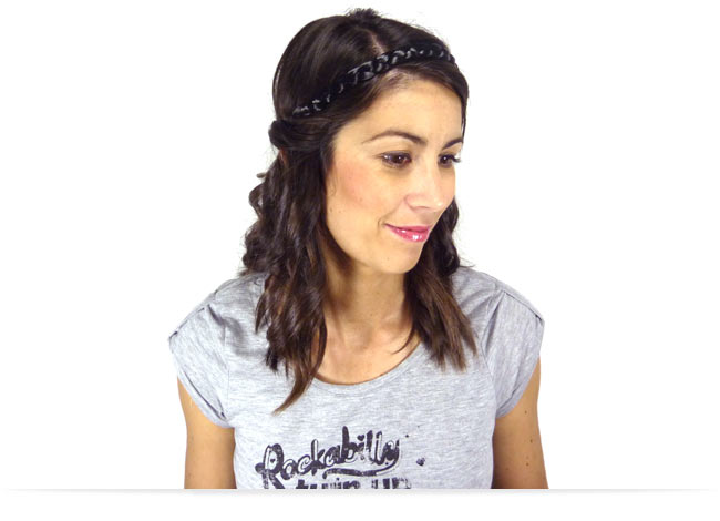 Comment porter le headband sur le dessus de la tête