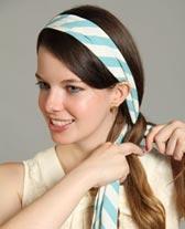 Apprendre à se coiffer avec un foulard