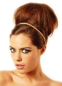 Le chignon en extensions à cheveux