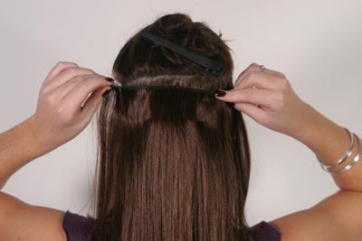 Extensions cheveux à clip