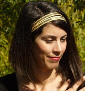Le headband de Vanessa Paradis