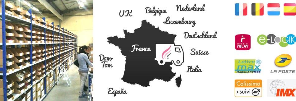 Livraison Headband.fr vers la France et l'Europe