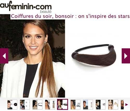 Headband.fr dans un article beauté d'aufeminin.com